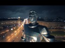 День Космонавтики, Москва. Drone footage of Moscow at night.