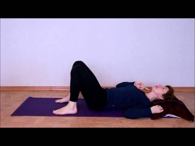 Шейный остеохондроз. Урок 1 упражнения для стабилизации шейного отдела.
