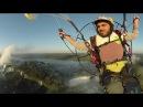 Stunning 360° Paramotor Flight Above Iguazu Falls w/ Rafael Goberna