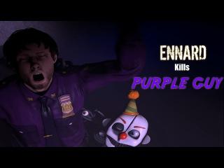 [SFM FNAF] Sister Location Ennard kills purple guy *DISTURBING*