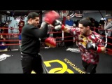 DANNY GARCIA SHOWS OFF EXPLOSIVE POWER IN RIGHT HAND CRACKING MITTS AHEAD OF KEITH THURMAN CLASH