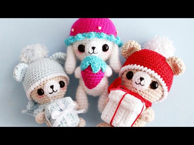 НАВЯЗАЛА на Новый год ❄ Новые игрушки амигуруми