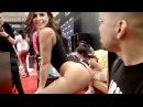Fingering Pornstars At AVN 2017 In Las Vegas!