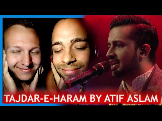 Atif Aslam, Tajdar-e-Haram, Coke Studio Season 8, Episode 1. | Trailer Reaction by Robin and Jesper
