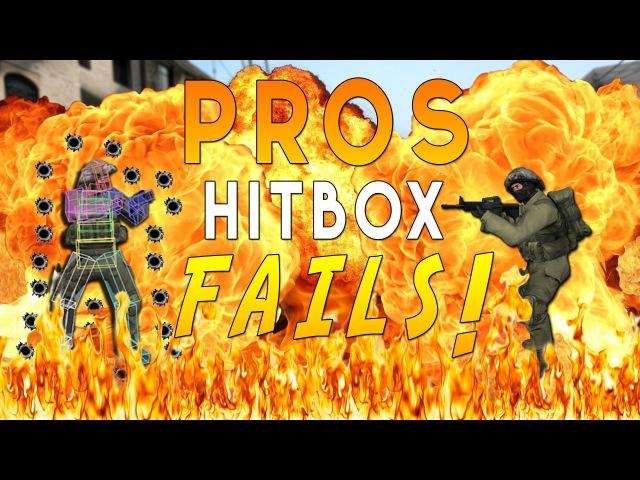 CS:GO - PROS/PLAYERS GETTING CSGO'd/HITBOX FAILS!