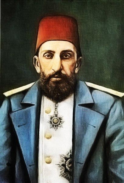 Султан Османской империи Абдуль-Хамид II.