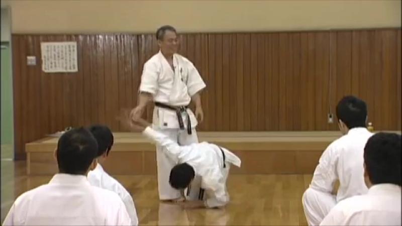 Sanseru _ Goju-ryu _ Kata no ura bunkai _ Yoshio Kuba _