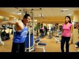 Как накачать верхние грудные мышцы - женский тренинг