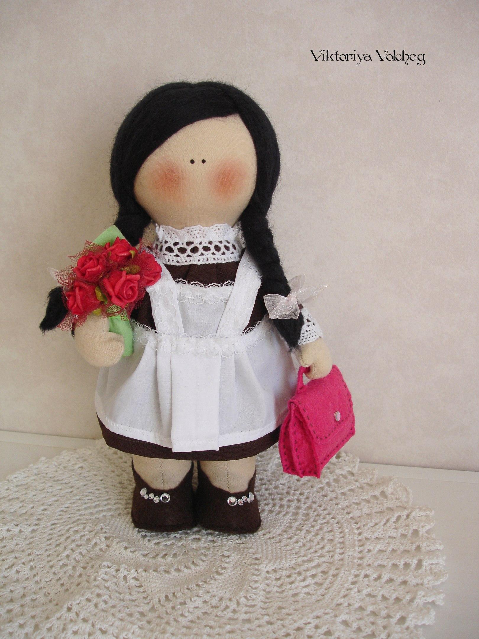 кукла первоклассница