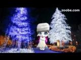 Zoobe Зайка .Поздравление с Рождеством Христовым