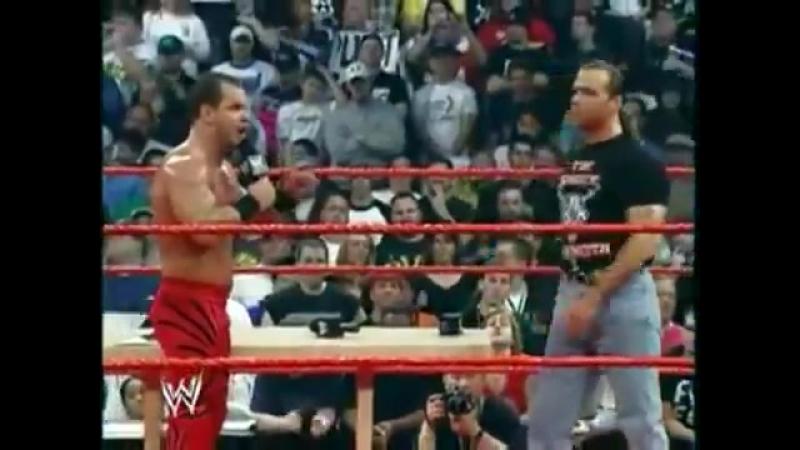 [Crossface] Shawn Michaels vs. Chris Benoit vs. Triple H: Wrestlemania XX Match Promo