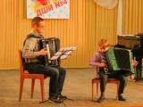 Тирольский танец - дуэтом ученика и учителя. ДШИ №4