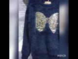 НОВИНКА!!! НЕЖНЕЙШИЕ СВИТЕРОЧКИ ДЛЯ Ваших Девочек 🐰🐰🐰 Ангора/ травичка ,размеры от 6 до 12 лет,цвет : темно- синий,молочный. Коф