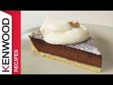 Chocolate Tart Recipe Demonstrated with Kenwood Chef Titanium
