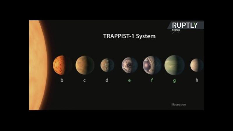 Пресс-конференция NASA по необычному открытию за пределами Солнечной системы