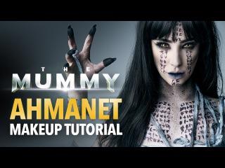 The Mummy - Ahmanet makeup tutorial