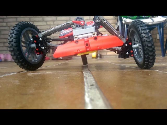 Lego Technic carver / tilting trike a prototype.