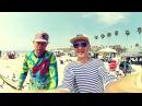 Лето пляж в Калифорнии Эмигрантам завсегда хорошо на океане 360