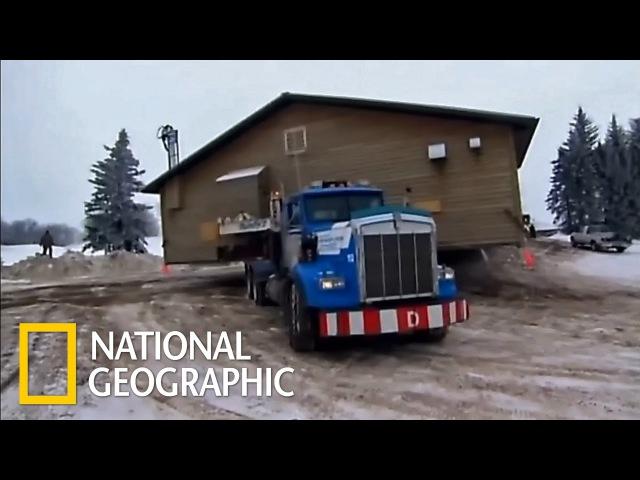 Грандиозные переезды: Битва в пургу (National Geographic)