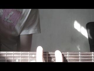 перебор ритм бас слайд и соло на гитаре одновременно