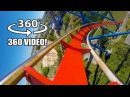Superman Roller Coaster 360 VR POV Six Flags Fiesta Texas Virtual Reality rollercoaster