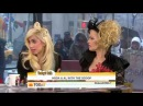 Lady Gaga Cyndi Lauper - Today Show MAC Viva Glam 2010 Part 1 of 2