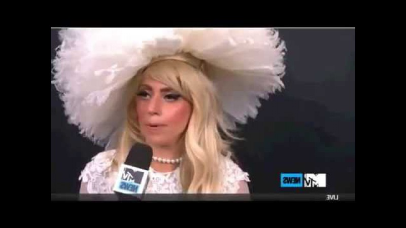 Lady GaGa MTV interview 2011 ( PART 2 )