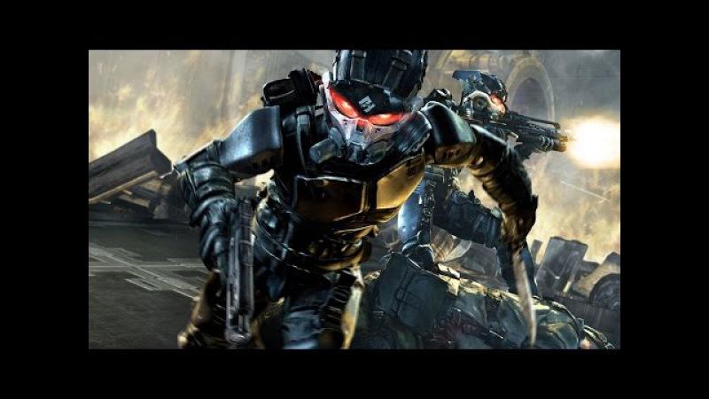 Решающая битва землян с инопланетными захватчиками. Фантастический игровой фил...