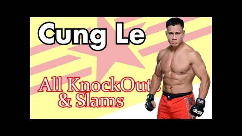 Сung Le Hihglights Slam KO Great Fighter UFC Strikeforce mma ТОП Броски и нокауты Кунг Ли