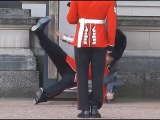 Buckingham Palace guard slips and falls in front of hundreds of tourists   YouTube