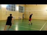 Волейбол. Нападающий удар в 3 метра