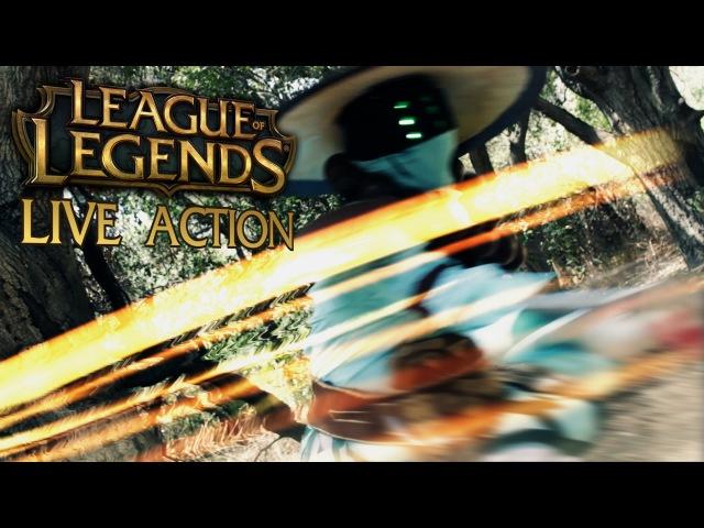 Live Action League of Legends - Twisted Treeline