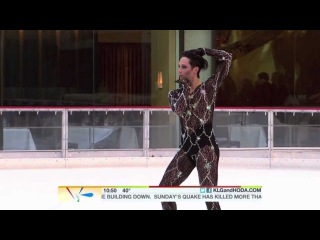 Johnny Weir, Poker Face, Today Show @johnnygweir