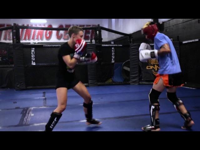 Rose Namajunas UFC 201 Sparring Highlight