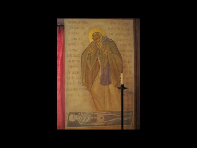 Arhimandritul Sofronie - Pomenirea morții, cuvântul lui Hristos și asemănarea cu Dumnezeu (5)