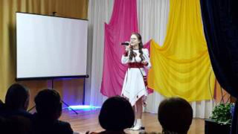 Ксения Вахрушева - Кыӵе чебер вылэм улон (Нылпи гуртовидение, Шаркан ёрос)