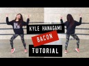 Kyle Hanagami Bacon Dance Tutorial (Front back view)