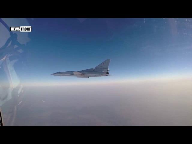 Сирия: ВКС РФ нанесли осколочно-фугасный удар по ИГИЛ в районе Ракка