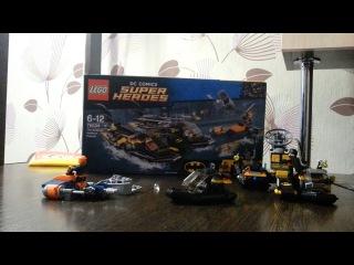 обзор LEGO DC бэтмен и робин (76034 The Batboat Harbour Pursuit)