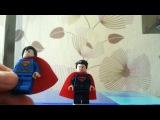 Обзор LEGO DC Бэтмен против Супермена (76044 Clash of the Heroes)