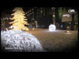 Riverpark Bratislava - vianočná výzdoba Mk illumination