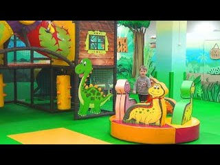 Детская игровая комната Динотопия - Children's playroom is Dinotopia