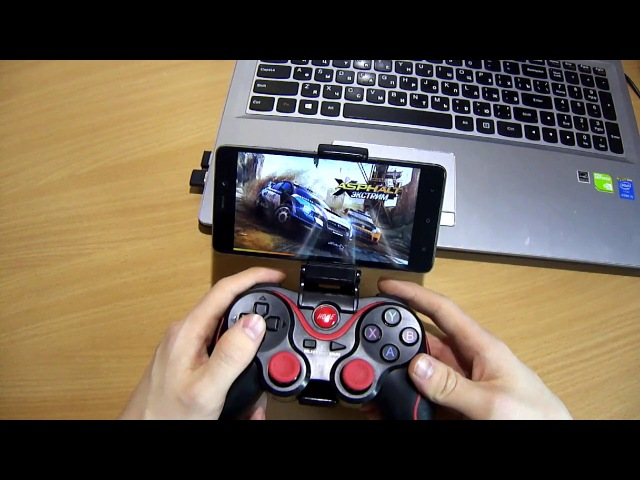 Bluetooth геймпад для андроид смартфона и ПК Gamepad for android and PC TERIOS T 3
