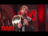Dean Ambrose gets the scoop backstage Raw, May 1, 2017