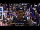 Michigan vs Northwestern  basketball 2017 (March 1)