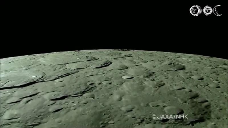 Вид на Землю с Луны Снимки переданы на нашу планету космическим аппаратом Кагуя