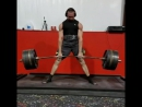 Кайлер Волам, тяга в сумо 370 кг