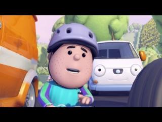 Олли Веселый грузовичок - Мультфильм про машинки - Серия 27 - В поисках сокровищ (Full HD)
