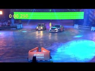 Первый в России автомобильный блокбастер G-DRIVE, супер-шоу «Гонка Тысячелетия»