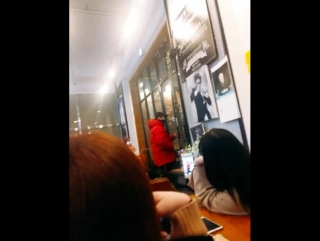 [VK][30.01.2017] Wonho MoMo Coffee